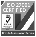 ISO27001 Certified