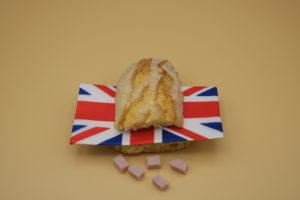 UK flag in a sandwich
